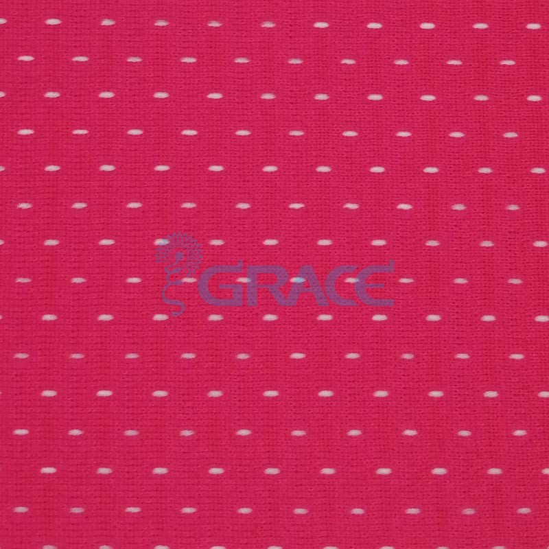 Спортивная сетка эластичная 162 гр/м², розовая кримплен, Siatka bistor S 1102 B