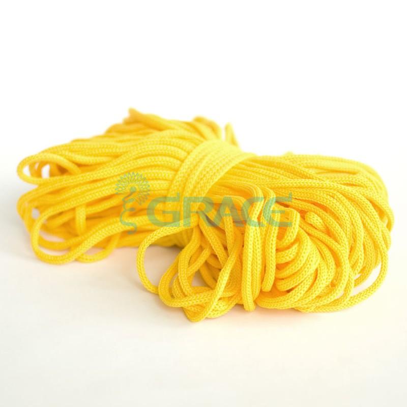 Шнур для одежды Szk YP 4 (желтый)