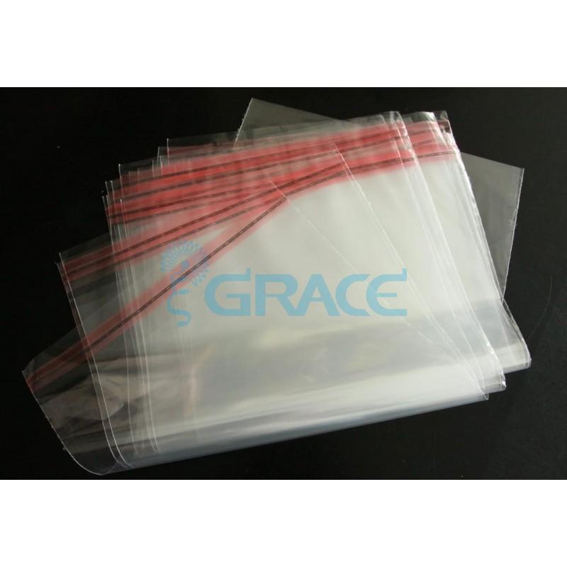 Пакеты полипропиленовые с клеевым клапаном 15х30