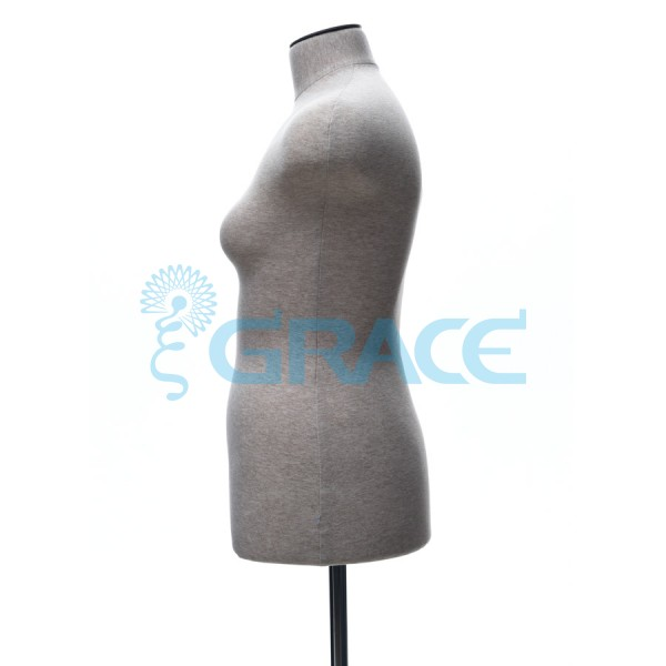 Манекен мягкий торс женский 44 размер, телесный