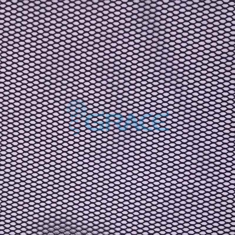 Спортивная сетка огнестойкая 51 гр/м², черная мелкая, Siatka S 5781 FR