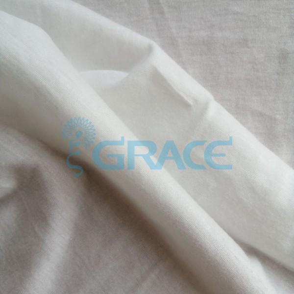 Кулирка GVS403 Supima premium - ткань хлопковая трикотажная, экрю