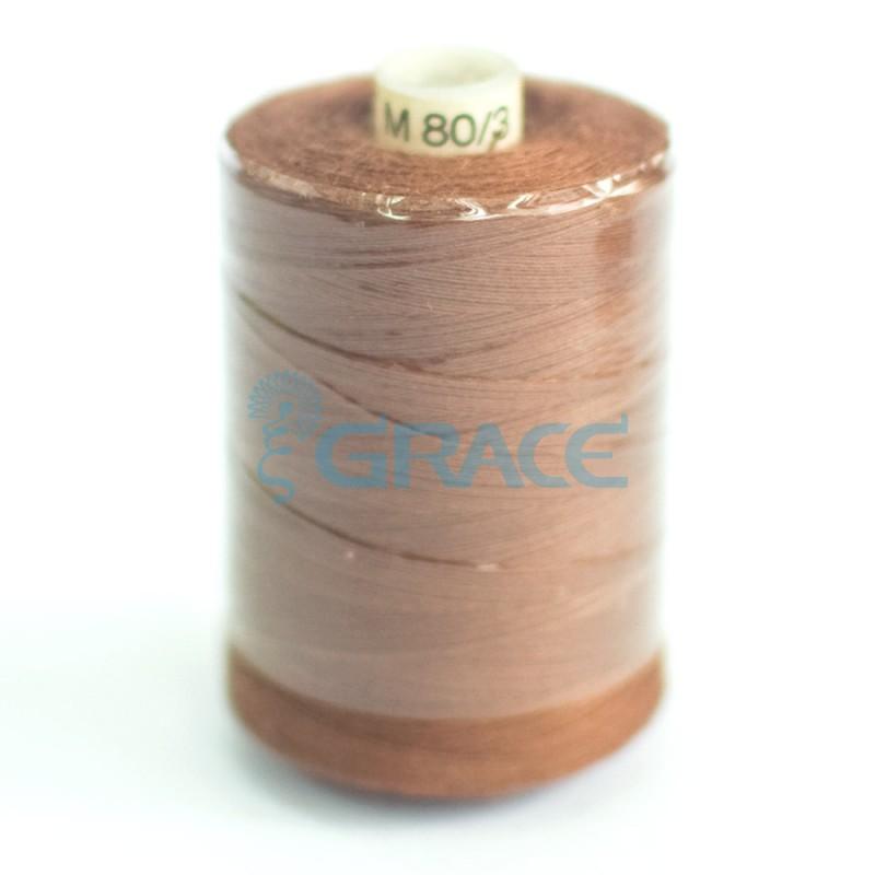 Нитки швейные 80/3 (коричневые)