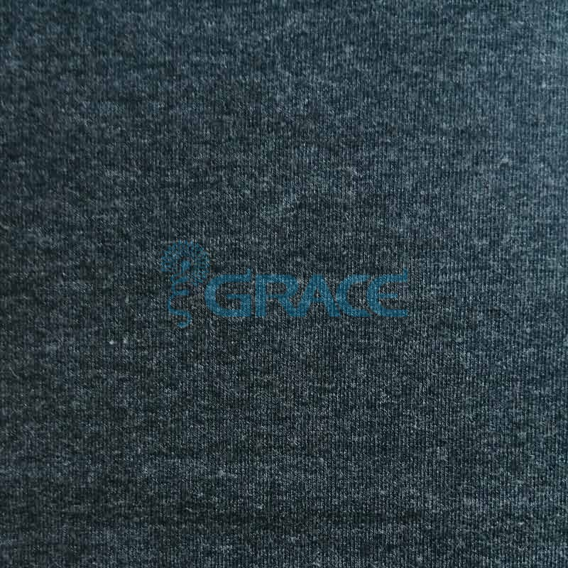 Футер - ткань хлопковая с начесом черная