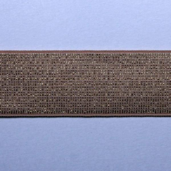 Металлизированная резинка арт. 5150