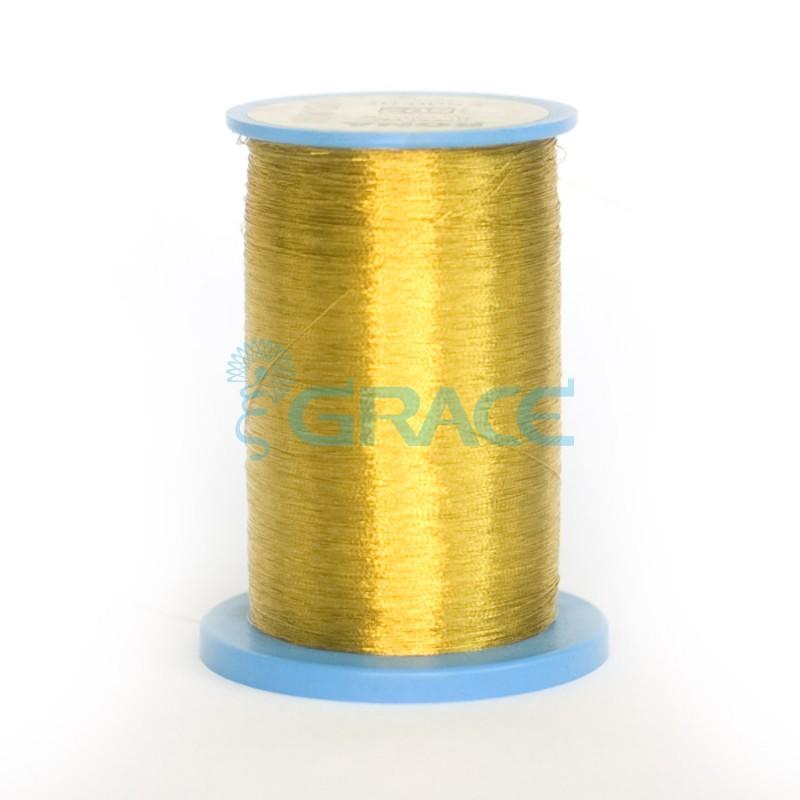 Rona - металлизированные вышивальные нитки золото-серебро