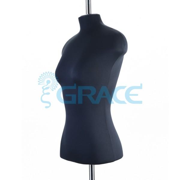 Манекен портновский женский 42 размер, черный