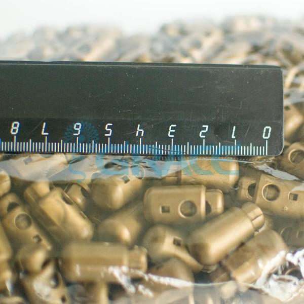 Фиксатор пластиковый для шнура Sto-13.50 (коричневый)