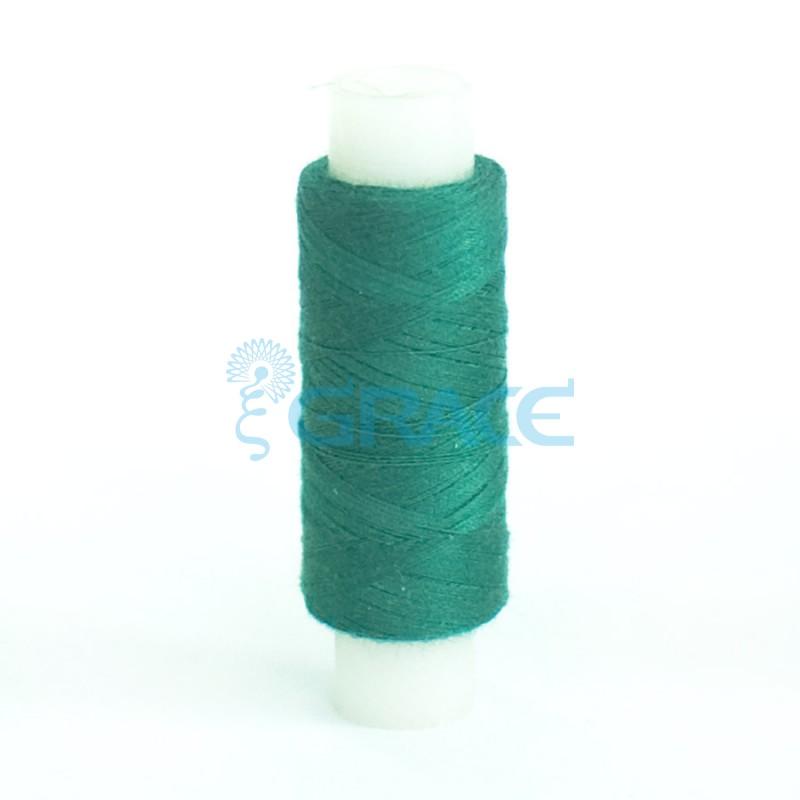 Нитки швейные 50/2 (зеленые)
