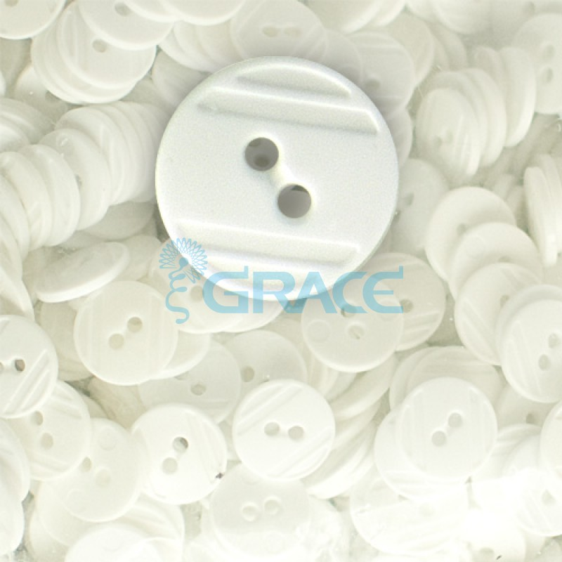 Пуговицы средние круглые плоские Guz YP 1824 (перламутровые 02-04)
