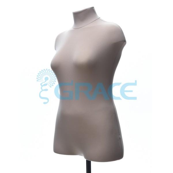 Манекен мягкий ГОСТ женский 50 размер, телесный