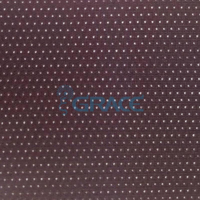 Спортивная сетка эластичная 185 гр/м², черная средняя, Siatka S-55 M11