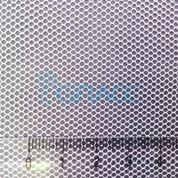 Ткань тюль эластичная белая, плотность 30 гр./м², полиэстер, Tiul SB-11