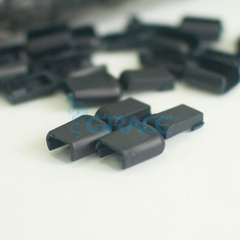 Концевик пластиковый для шнура Dzw M503 (черный)