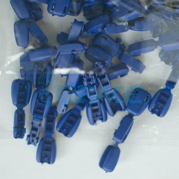 Концевик пластиковый для шнура Dzw M503 (синий)