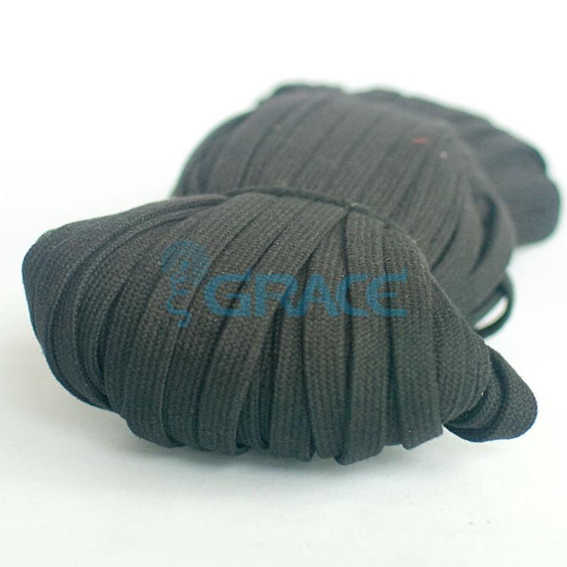 Шнур для одежды SzK Y 1497 /12 (черный)
