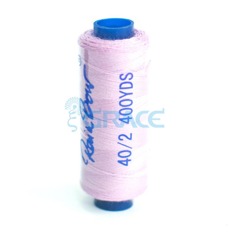 Нитки швейные Grace 40/2 (лилово-сиреневые)