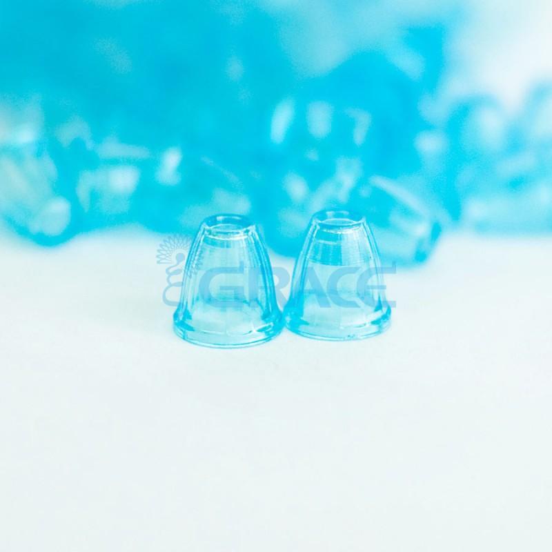 Наконечник пластиковый для шнура Dzw Y 211-4 (голубой)