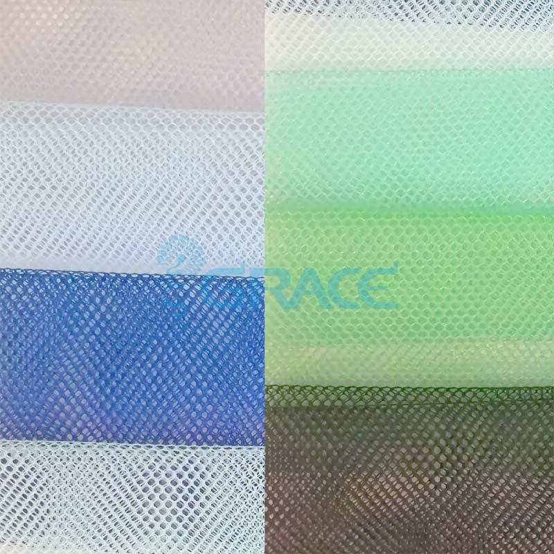 Ткань тюль разных оттенков, плотность 30 гр./м², полиамид, Tiul P-11