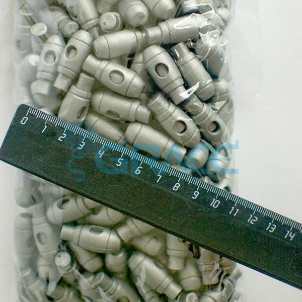 Фиксатор пластиковый для шнура Sto-13.50 (серый)