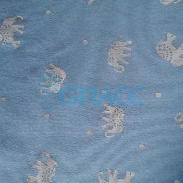 Коллекция интерлок с рисунком слоник - ткань хлопковая, трикотаж