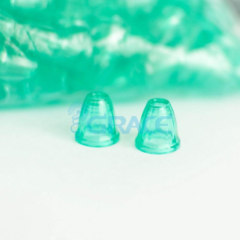 Наконечник пластиковый для шнура Dzw Y 211-4 (зеленый)