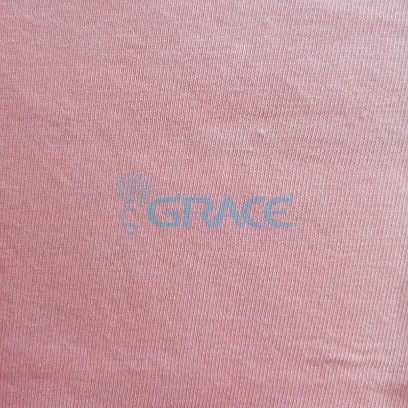 Кулирка GVS02 - ткань хлопковая трикотажная, персиковая