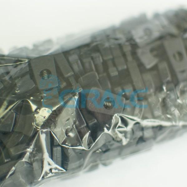 Фиксатор пластиковый для шнура Stop128 (черный)