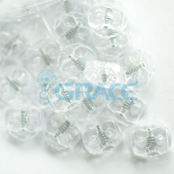 Фиксатор пластиковый для шнура StoY 103 (белый)