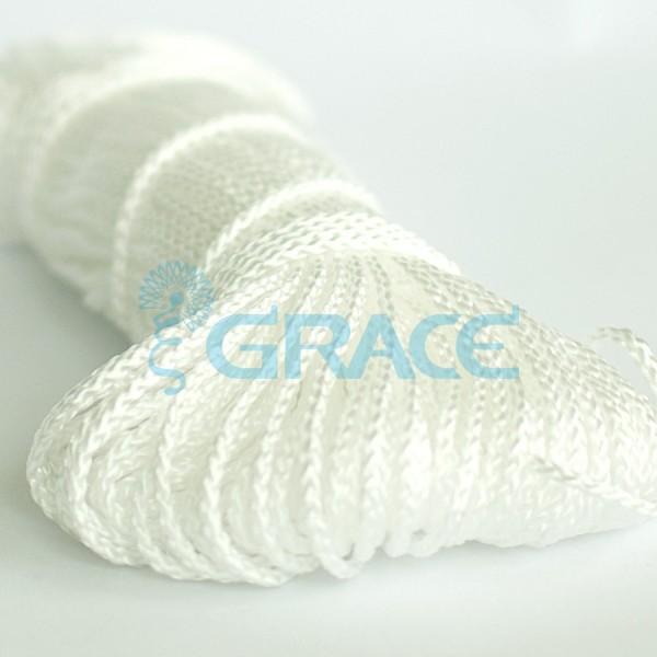 Шнур для одежды SzK Y 1800.3 (белый)