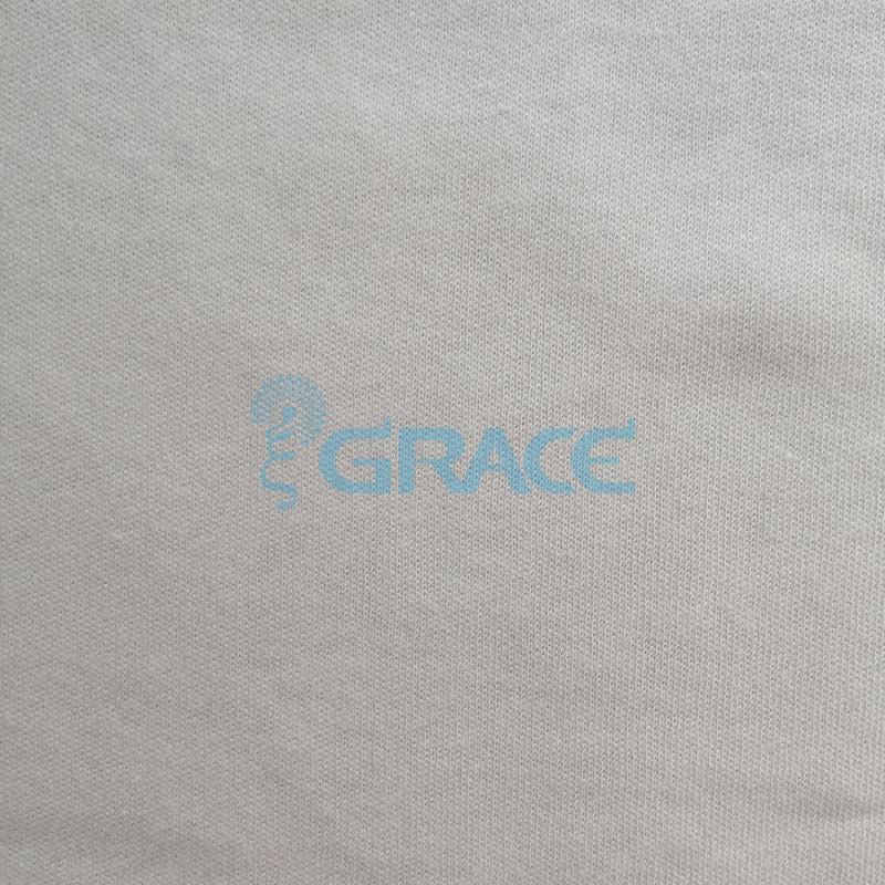 Интерлок GVI05 - ткань хлопковая трикотажная, белая