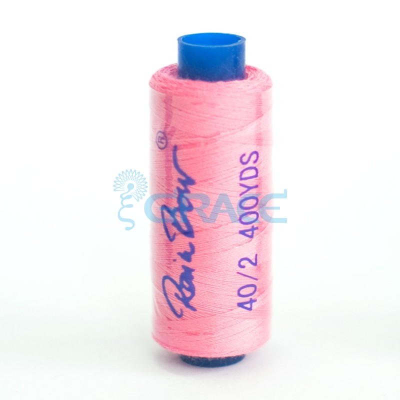 Нитки швейные Grace 40/2 (розовые)