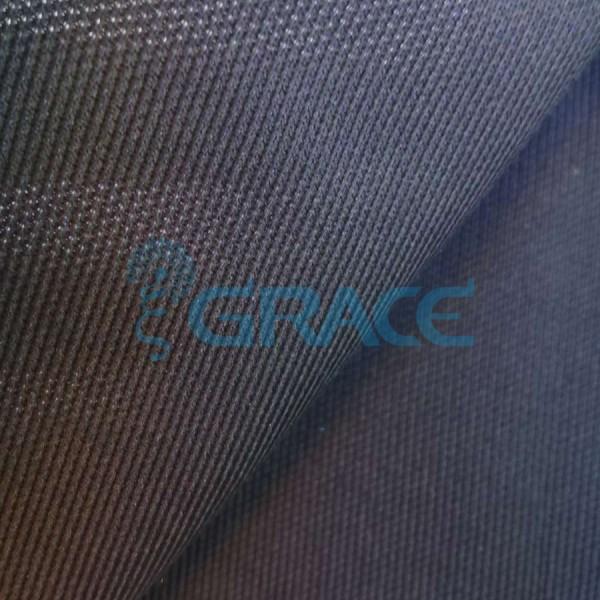 Трикотажный подклад эластичный 130 гр/м², черный Dzianina Azurowa PB