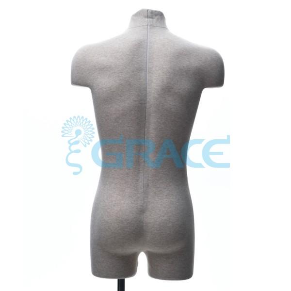 Манекен мягкий демонстрационный мужской 48 размер, телесный
