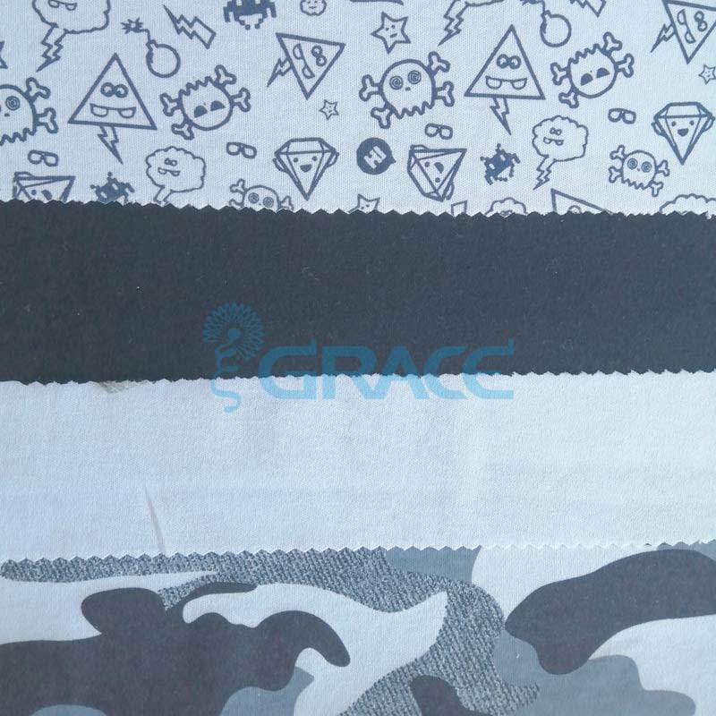 Коллекция интерлок с рисунком камуфляж - ткань хлопковая, трикотаж