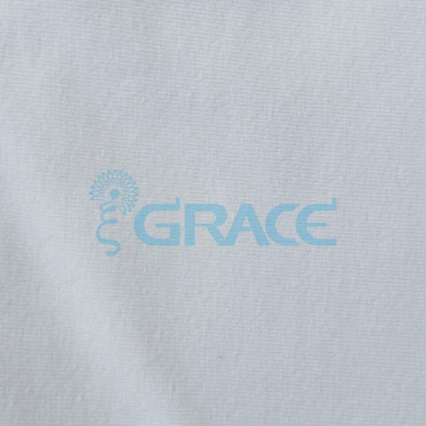 Кулирка GVS38 - ткань хлопковая трикотажная, белая