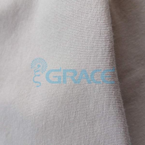 Кулирка GVS38 - ткань хлопковая трикотажная, бежевая
