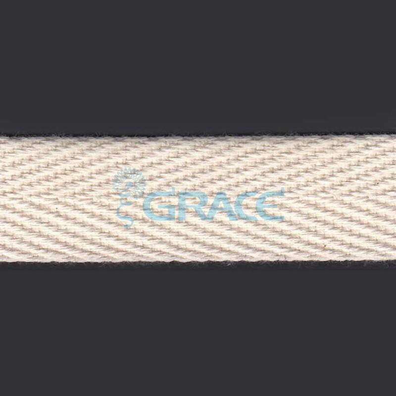 Лента хлопковая в елочку арт. 4058