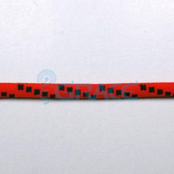 Шнурок плетеный с логотипом арт. 1551