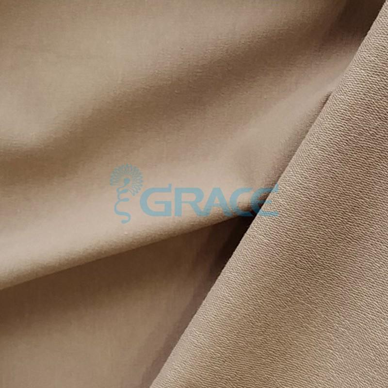 Футер 280 гр. - ткань хлопковая, петельчатая, бежевого, кофейного цвета