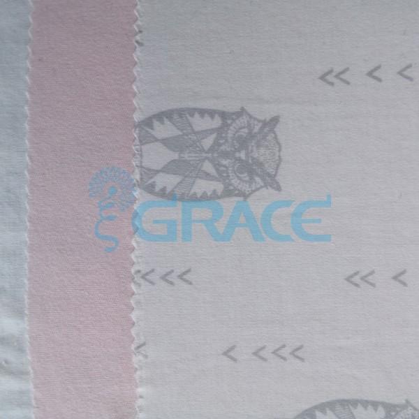 Коллекция интерлок с рисунком сова - ткань хлопковая, трикотаж