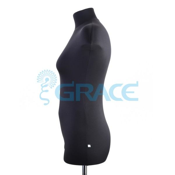 Манекен мягкий ГОСТ женский 50 размер, черный