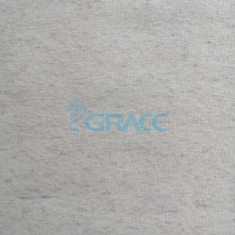 Футер 300 konopie drapany - ткань хлопковая с начесом, бежевая