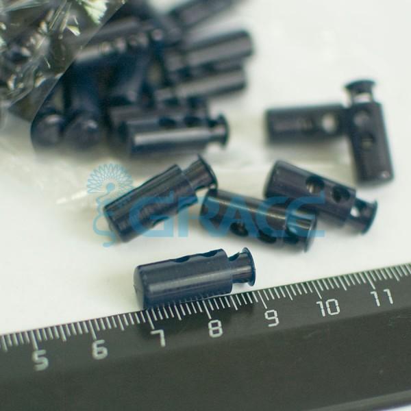 Фиксатор пластиковый для шнура Stop126 (черный)
