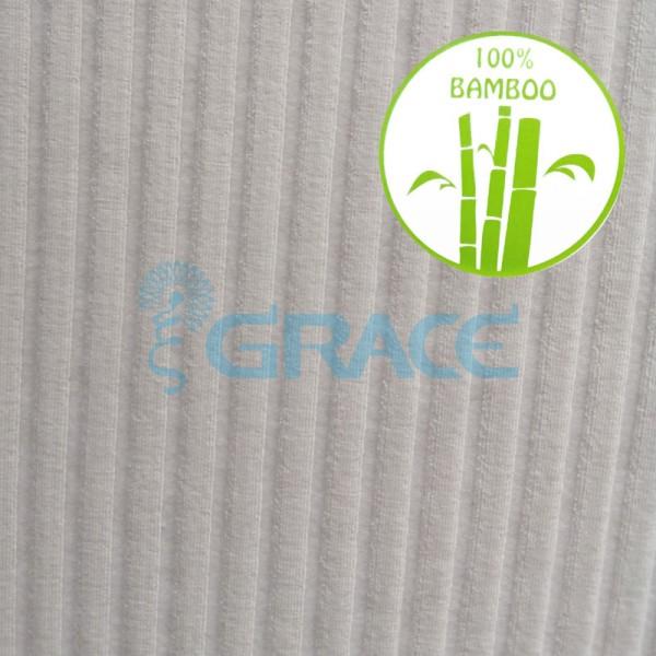 Рибана GVCB315 Bambo haga - ткань бамбуковая трикотажная, экрю