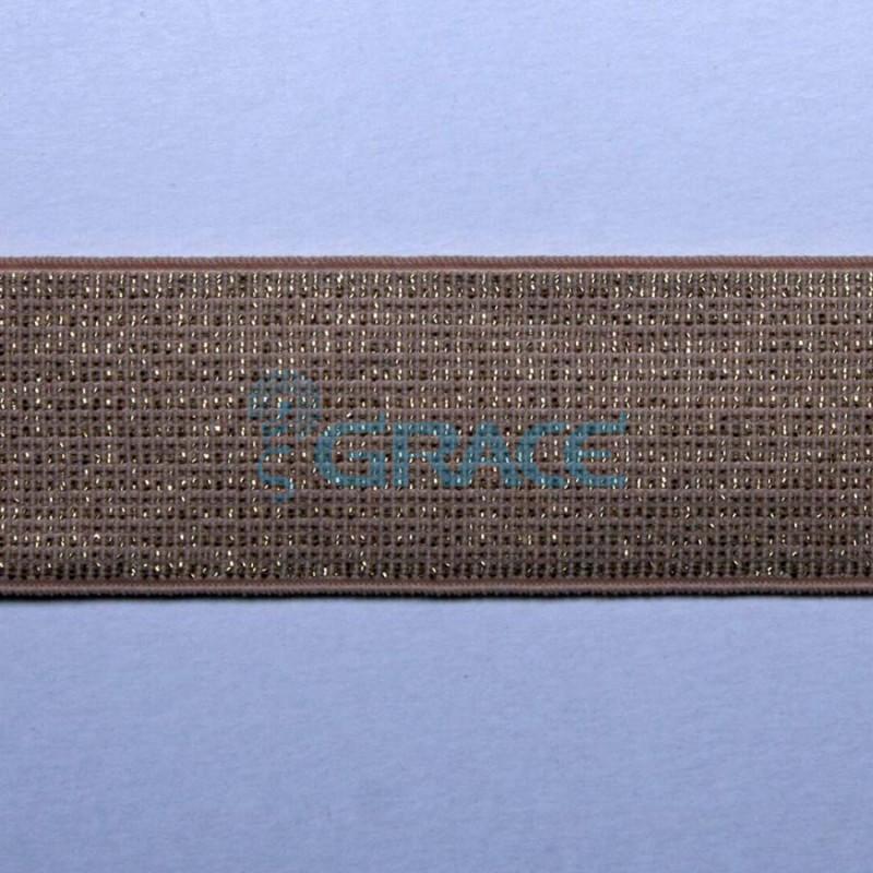 Резинка декоративная металлизированная арт. 5150