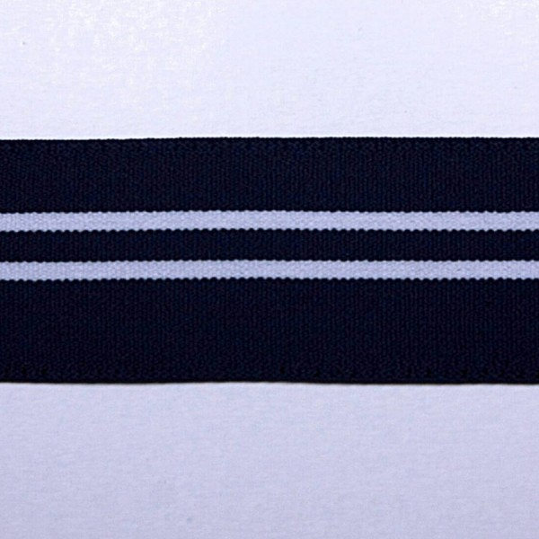 Резинка декоративная с полосами