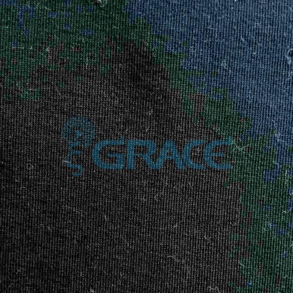 Кулирка GVS38 - ткань хлопковая трикотажная, черная