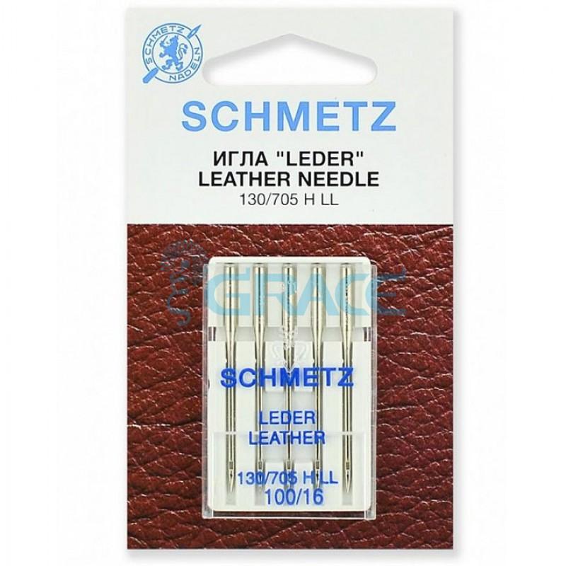 Иглы для джинсы Schmetz 100