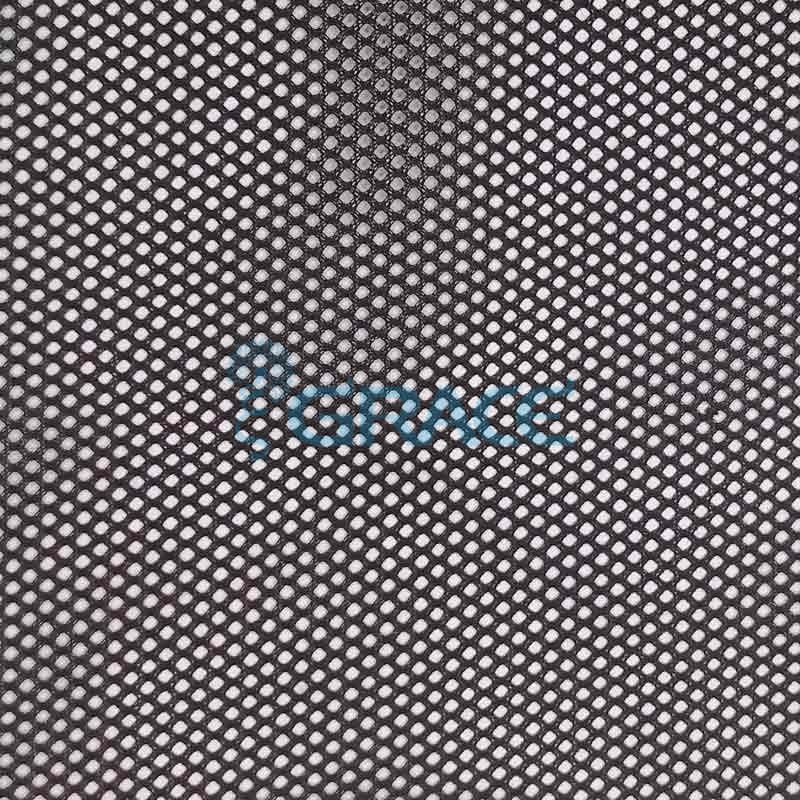Спортивная сетка огнестойкая 67 гр/м², черная мелкая, Siatka S 5031 FR